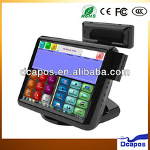 15 Inch Resistive Touch screen Fanless POS System for Retail