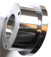 High polised Low volume steel metal parts by cnc machine prototyping