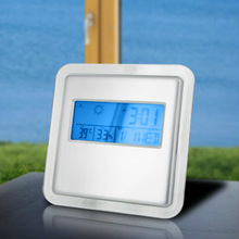 Deluxe Digital Alarm Clock with Weather Station and Kickstand (EC 18260)