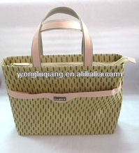 good export straw pure woman tote bag