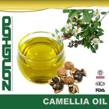 puro aceite de la camelia de semillas de té de aceite