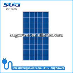 High Power 110W polycrystalline solar panel