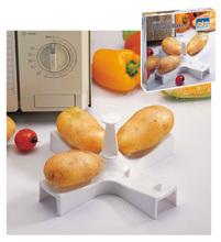 Plastic microwave potato baker plastic microwave cookware potato baker