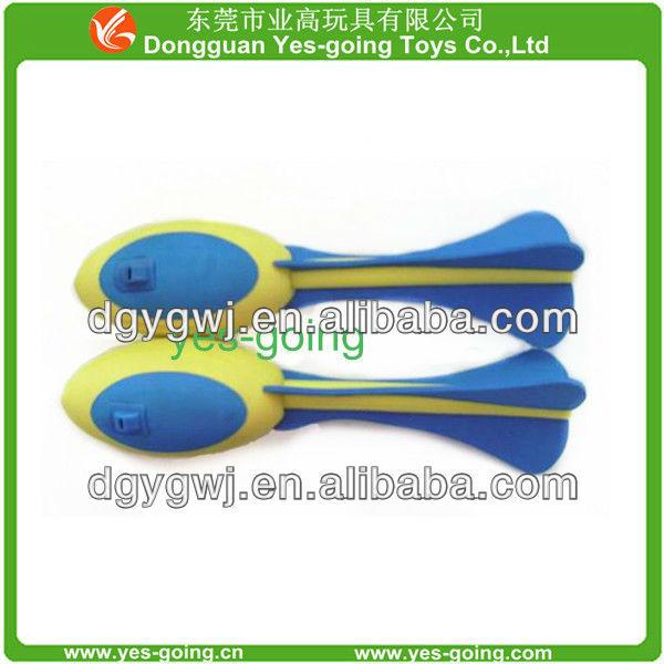 eva kids toy/foam rocket ball/eva rocket ball
