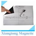 Planificador semanal de los niños de la escritura magnético memo salas/de escritura magnética& drawning junta