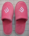 High quality new design red closed toe women fancy slippers