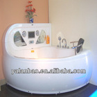 Jacuzzy massage style double bath tub corner bathing for lovers