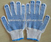 String knit pvc dot work gloves, gloves,gloves dots (Wow, wonderful!)