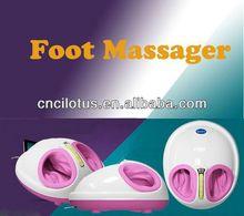foot calf massager infrared blood circulation foot massage wooden ball foot massager