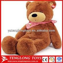 Stuffed cute sleeping animal bear Giant plush teddy bear toy