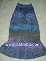 & tie dye faldas de algodón para las niñas&indio para mujer faldas de lujo empate& tinte ethni