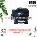 Ne6187z mini embraco aspera compresor
