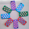 Mix Color Silicon Christmas Phone Cover Case For iPhone Apple 5S 5