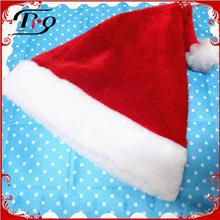2014 new design party santa plush chrismas hat