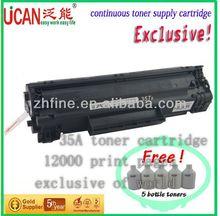 Hot selling! High page yield!! 35a CTSC compatible for HPCB436A toner cartridge,lg toner powder korea