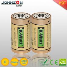 LR14 C size 1.5v alkaline battery