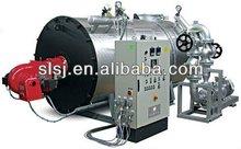 Oil/Gas fired heat transfer fluid furnace