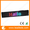 USB and RS232 interface 16X96 dots colorful moving LED sign board