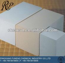 Dense Cordierite Mullite Ceramic Honeycomb filter catalytic converter