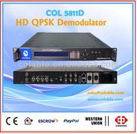 dvb-s2 hd ird,qpsk 8psk tv demodulator,best hd satellite receiver 2013 COL5811D
