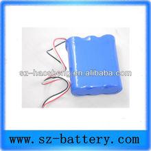Rechargeable 18650 12V 2200mah li-ion accumulator battery
