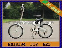X-EB39 20'' aluminium alloy frame electric bike folding with SHIMANO 6Speed gears