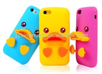 "For Apple iPhone 5"" Original 3D Animal silicon Duck case"