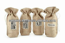 Jute Chill Bottle Bag & Jute Promotional Wine Bags