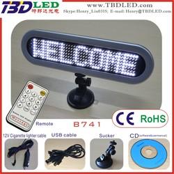 7*41 dots led car message board/led car message display sign