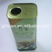 custom aluminium can colza oil tin can