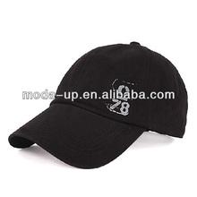 Men's printed baseball cap with metal buckle