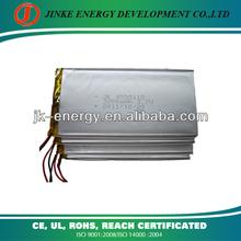 3.7v li ion polymer battery 3200mah 4555115 3200mah charger battery
