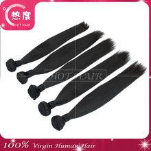 Raw Unprocessed 100% European Virgin Hair 8-30 inch Straight Factory Wholesale