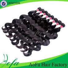 Grade 5a unprocessed aaaaa virgin natural raw indian hair