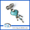 Resin Stone Charm DIY Jewelry Scarf Slide Pendant Dangle Drop
