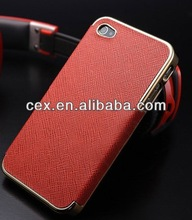 New Arrival High Quality Shell Plating Hard Ultra Thin Slim Case for Apple iPhone 4 4S