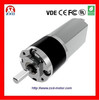 dc planet gear motor 12V 24V 22mm