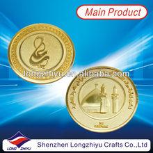 Customized design logo enamel souvenir coins zinc alloy medal,new fashion metal crafts casting medal coins for commemorative gif