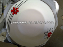 daily used ceramic food plate,porcelain dinner plates dishes,ceramic pie plate