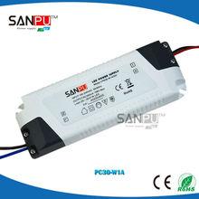 Factory direct sale plastic IP60 led driver ic circuit 700ma 350ma saa