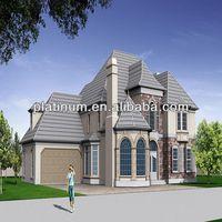 prefab house villa Europe designs