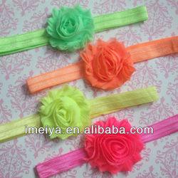 wholesale fashion ribbon rosette infant baby headband