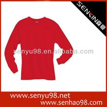 2014 fashion red t-shirt guangzhou factory OEM
