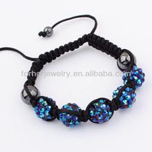 New Design Friendship Beads Shamballa Bracelets,Nylon String For Shamballa Bracelets SKB0100