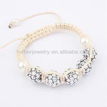 New Design Friendship Beads Shamballa Bracelets,Nylon String For Shamballa Bracelets SKB0101