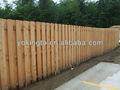 valla de madera para la jardinería