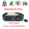 1920*1080p projector 3d active/mobile projector iphone 4