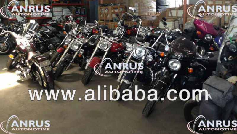 Harley Davidson and other motorcycles from USA. New, used or damaged. Wholesale prices.