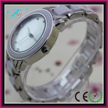 Newest elegant customized beautiful japan movt brand lady ceramic band watches