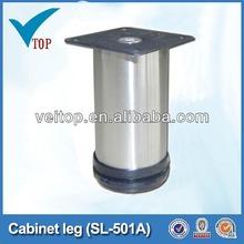 furniture adjustable metal caps for furniture legs